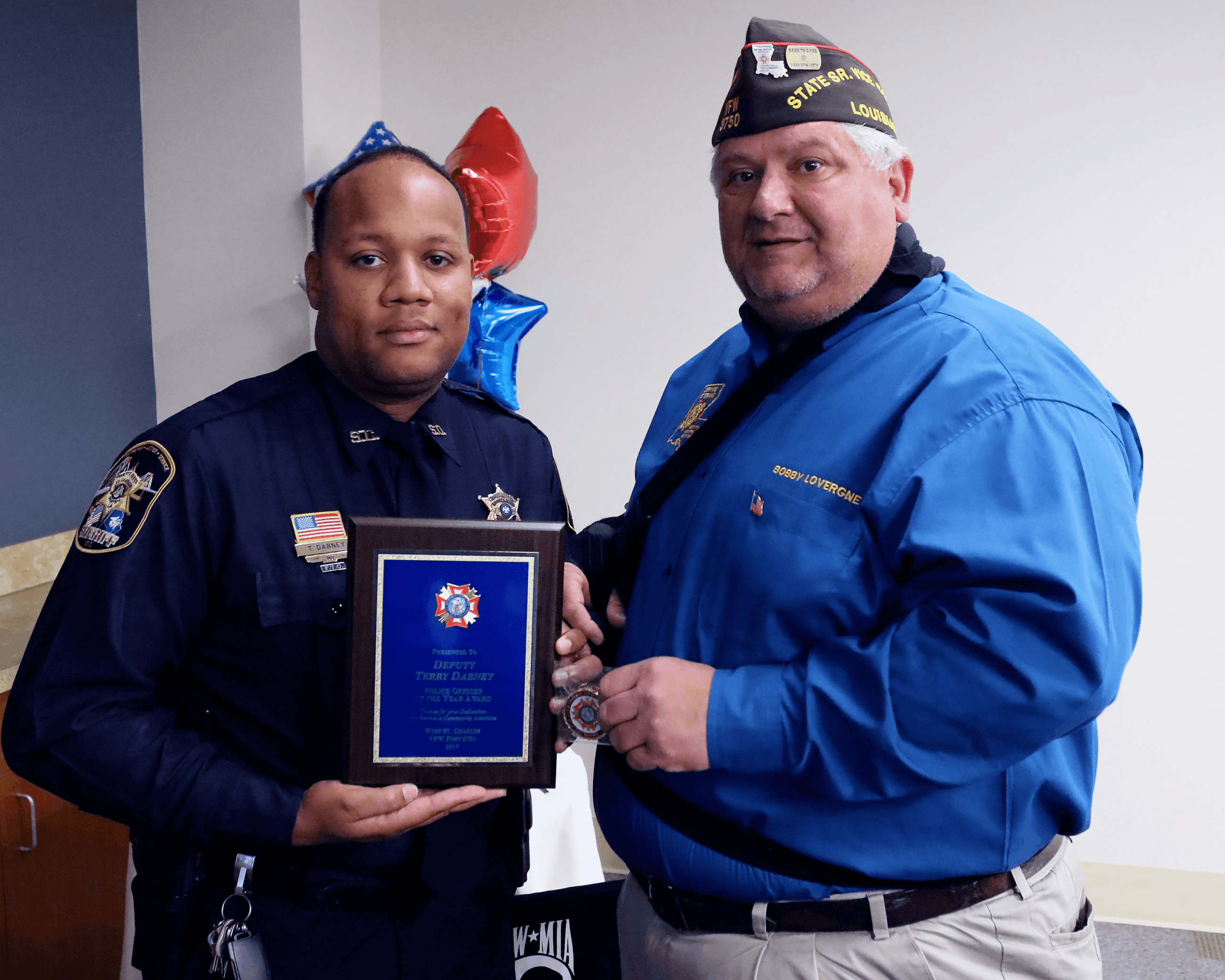 Terry Dabney -Deputy of the Year
